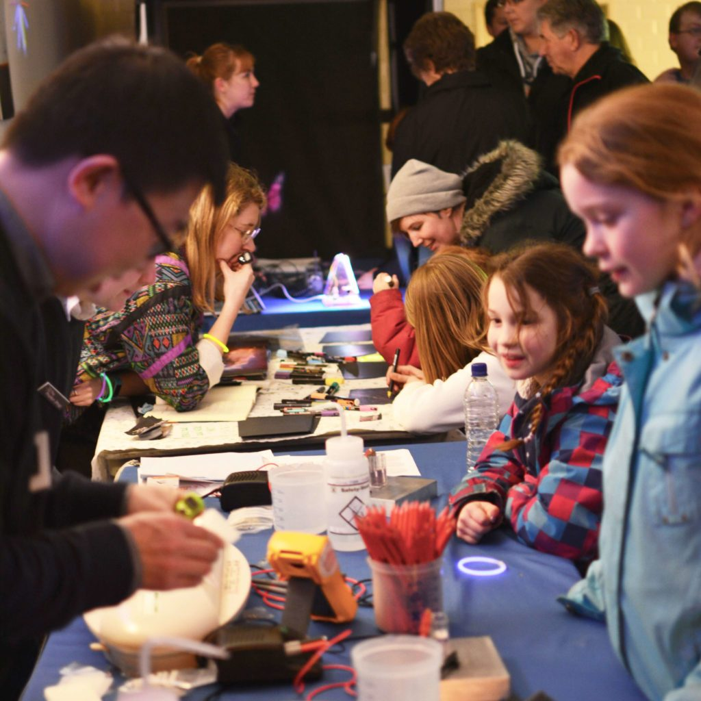 Photon Shop shines a light on Southampton research activities at Poole art festival